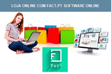 Loja online e APP integrada com FACT.PT