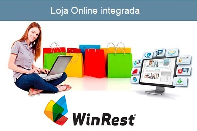 Loja online e APP integrada com WIN REST