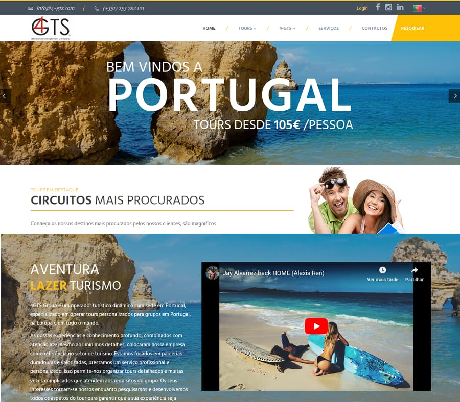 Criação de Sites e Lojas online, apps e marketing digital
